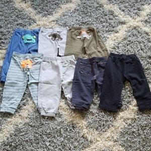 Huge lot of 24 month baby toddler boy pants